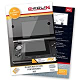 "atFoliX Displayschutzfolie f�r Nintendo 3DS (3er Set) - FX-Antireflex: Displayschutz Folie antireflektierend! H�chste Qualit�t - Made in Germany!von ""Displayschutz@FoliX"""
