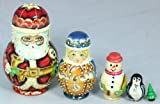 Collectors Extra Special Christmas 5 Piece Russian Matryoshka Doll