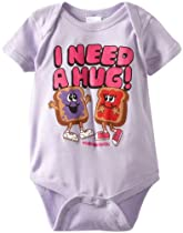 David & Goliath Baby-Girls Infant I Need A Hug Onesie, Lilac, Large