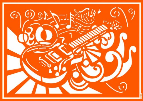javana-92519-textil-schablone-selbsthaftend-rockn-roll