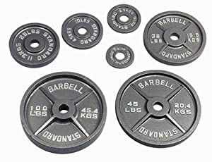 480 Pound Olympic Set With Bar & Collars by Troy Barbell