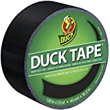 Duck Brand 392875 Black Color Duct Tape, 1.88-Inch by 20 Yards, Single Roll
