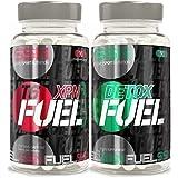Simply Sport Nutrition XPN FUEL T6 Fatburner & DETOX FUEL Slimming Tablets Strong Detox Diet Pack