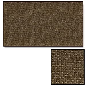 Brown Guardian Rectangular Fireplace Hearth Rug