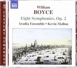 Boyce - (8) Symphonies, Op 2