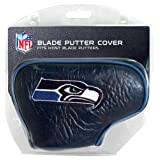 Team Golf NFL Seattle Seahawks Golf Club Blade Putter Headcover, Fits Most Blade Putters, Scotty Cameron, Taylormade, Odyssey, Titleist, Ping, Callaway