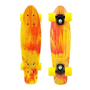 Buy Penny Complete 22-Inch Marble Skateboard Yellow Red by Penny