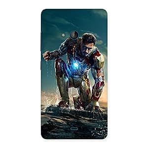 Special Style Genius Multicolor Back Case Cover for Lumia 540