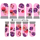 Winstonia Designer Nail Wrap Strips La Vie En Rose