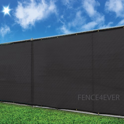 5 39 x50 39 black fence cover privacy screen windscreen shade for Cloth privacy screen