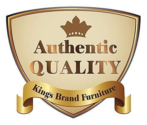 Kings Brand Furniture Metal Cheval Standing Floor Mirror, Antique Brown 3