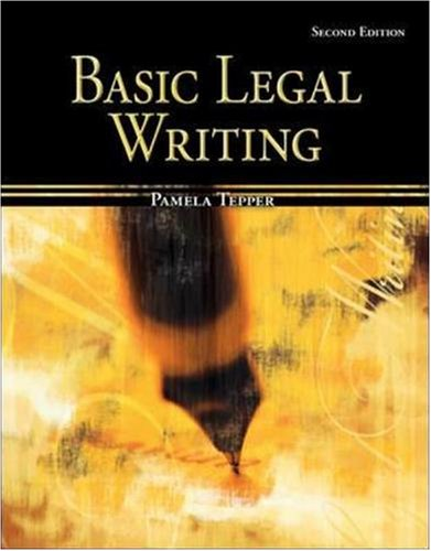 legal writing books Everything you need for your legal writing course and to make bar review.