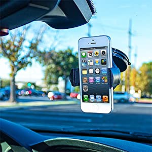 360 Rotating Windshield Car Mount Cradle Holder Stand for New Apple iPod Touch 5th Generation 5G 5