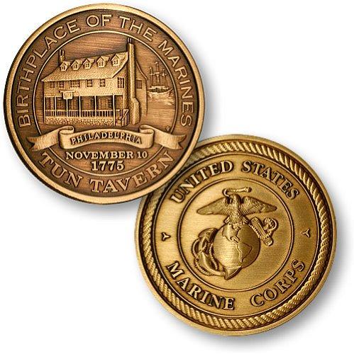 Northwest Territorial Mint Tun Tavern Bronze Antique Coin