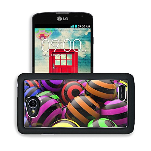 Graphic Design Colorful Striped Orbs Lg Optimus L70 Dual D325 Snap Cover Premium Aluminium Design Back Plate Case Open Ports Customized Made To Order Support Ready 5 2/16 Inch (130Mm) X 2 12/16 Inch (70Mm) X 11/16 Inch (17Mm) Msd L70 Professional Cases Ac