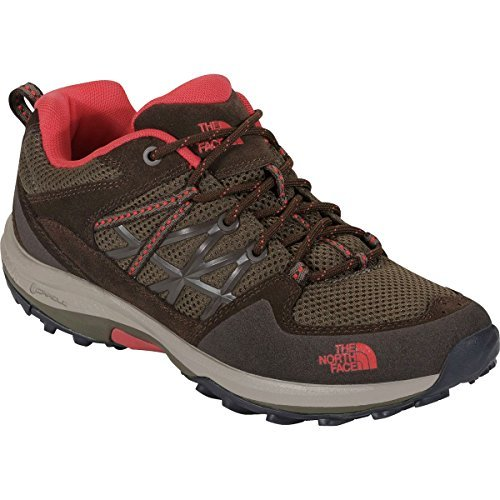The North Face Storm Fastpack Hiking Shoe - Women's Weimaraner Brown/Fiesta Red, 8.0