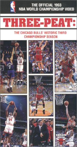 The Official 1993 NBA World Championship Video - Three-Peat: The Chicago Bulls' Historic Third Championship Season [VHS] at Amazon.com