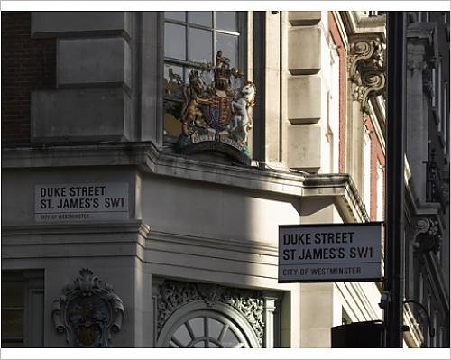 photographic-print-of-crest-fortnum-and-mason-piccadilly-london