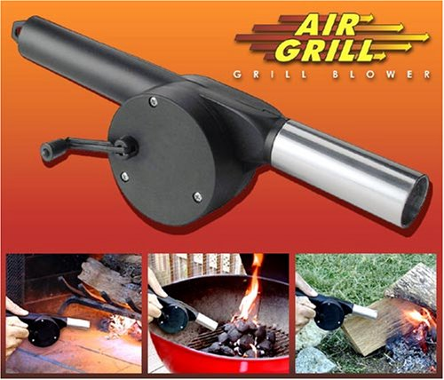 AIR GRILL BLOWER, Bbq Tool For Charcoal Grills, Camp Fires And FireplacesAIR GRILL BLOWER, Bbq Tool For Charcoal Grills, Camp Fires And Fireplaces