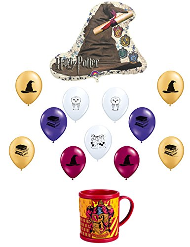 [Harry Potter Balloon Decoration Kit with Bonus Mug] (Sorting Hat From Harry Potter)