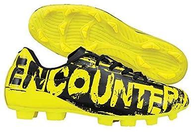 Nivia Encounter Football Stud Yellow Black 10 Uk Buy