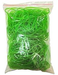 Flexi Rubber Bands Green - 2 inch Diameter - 250 pcs