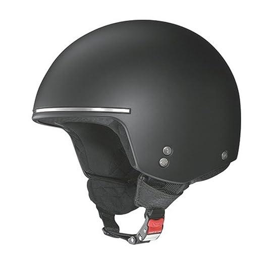 Nolan - Casque - N20 NAKED CHOPPER - Couleur : Flat black - Taille : 2XL