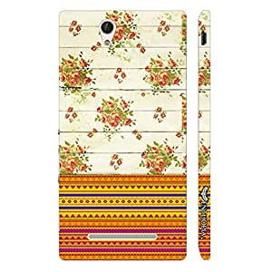 Sony Xperia C3 Pretty Aztec 2 designer mobile hard shell case by Enthopia