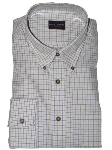 Brook Taverner 100% Cotton Casual Shirt Size XL