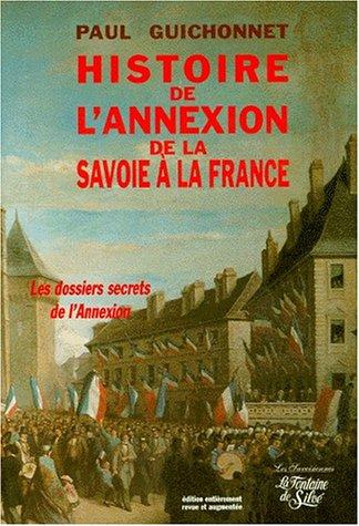 Histoire de l'annexion de la Savoie...