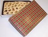 Scott's Cakes Maple Walnut Fudge 1 Pound Christmas Plaid Box