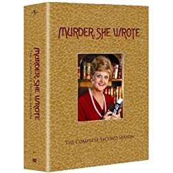 Murder, She Wrote - The Complete Second Season