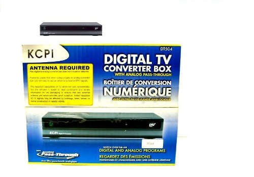The New Kcpi Dt504 Digital Tv Converter Box / 847216095044