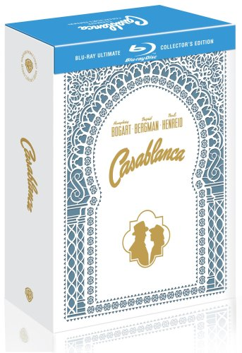 Cover art for  Casablanca (Two-Disc Ultimate Collector's Edition) [Blu-ray]