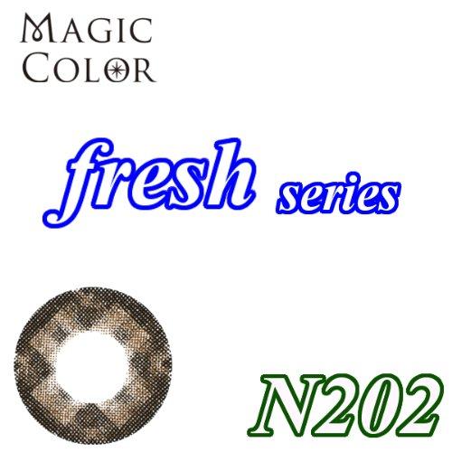 MAGICCOLOR (マジックカラー) fresh N202 度なし 14.5mm 1ヵ月使用 2枚入り