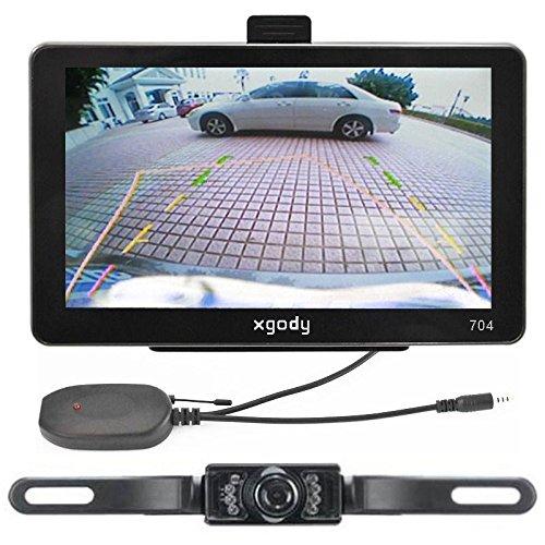 "7"" Car GPS Navigation+ Wireless Rear view Camera Bluetooth AV-IN New Map 4GB"
