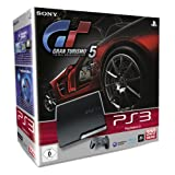 "PlayStation 3 - Konsole Slim 320 GB (J-Model), black + Gran Turismo 5von ""Sony"""