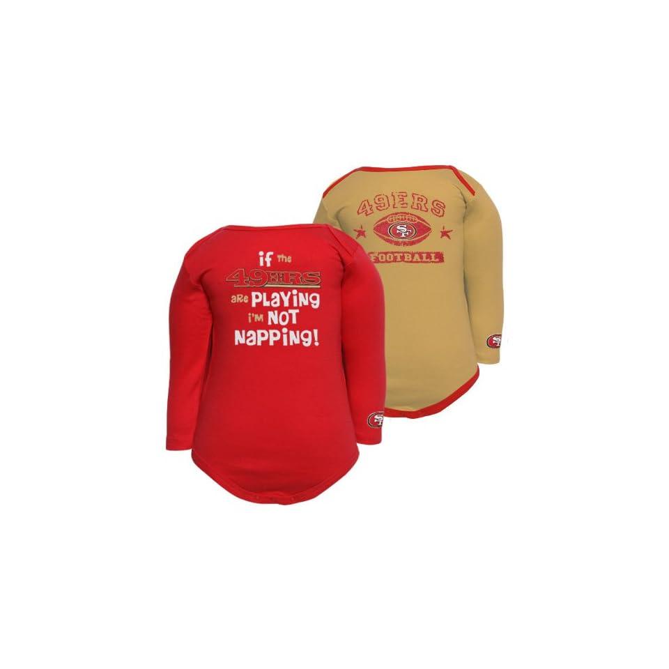Gerber San Francisco 49ers Infant Scarlet Gold Gametime 2