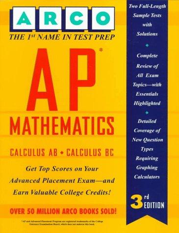 Ap Mathematics: Calculus Ab and Calculus Bc (Arco Master the AP Calculus AB & BC Test)