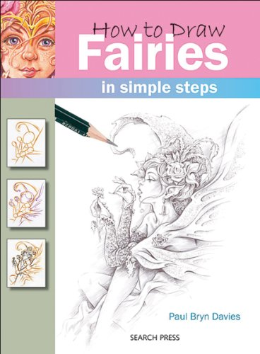 Search Press Books How To Draw Fairies - 1