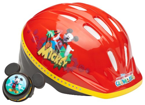 Purchase Disney Unisex-child Mickey Mouse Toddler Helmet Helmet (Red)