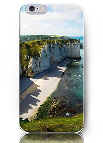 Ouo New Unique Design Hard Cover For 5.5 Inch Iphone 6 Plus Case With Design Of Green Mountains And Sea