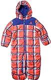 Rugged Bear - Baby Boys 12-24M Plaid Soft Winter Snowsuit Pram/ Orange18