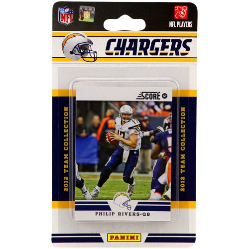 San Diego Chargers Football Scores: NFL San Diego Chargers 2012 Score Team Set Electronics Video
