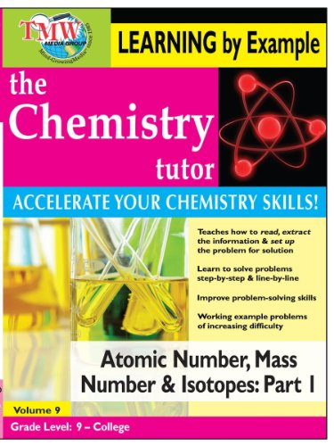 Chemistry Tutor:  Learning By Example - Atomic Number, Mass Number and Isotopes Part 1