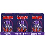 Cadbury Wispa Easter Egg 313g (Box of 6)