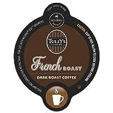 Tullys Coffee(R) French Roast Coffee Vue(Tm) Packs, 0.4 Oz., Box Of 16
