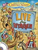 img - for Instant Christmas Pageant: Live from Bethlehem with CD (Audio) book / textbook / text book