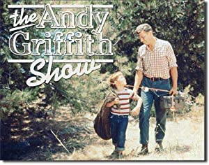 The Andy Griffith Show Tribute Tin Sign