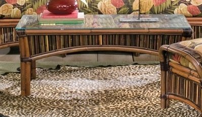 Cape town Rattan Coffee Table